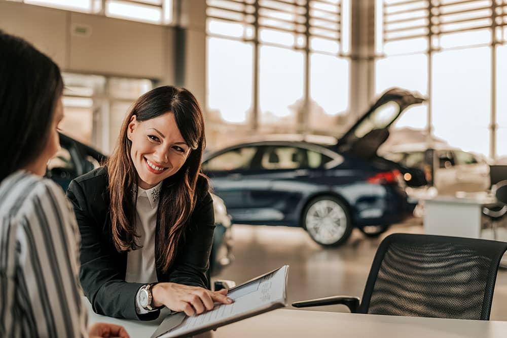 car dealer paperwork